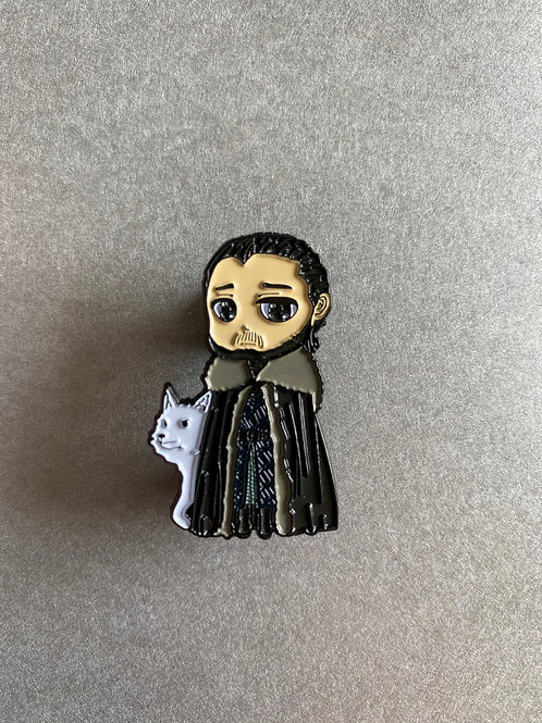 CLEARANCE PIN - GOT John Snow