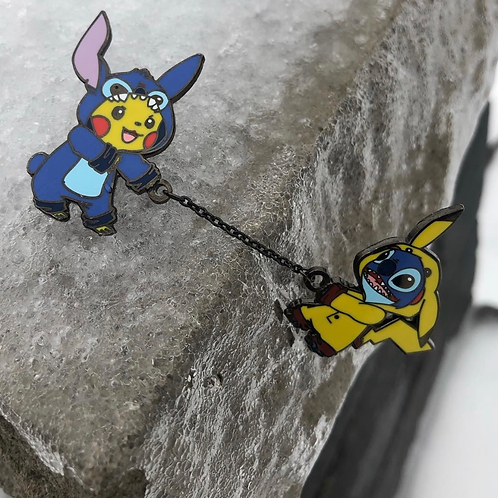 Pika and Stitch Chain