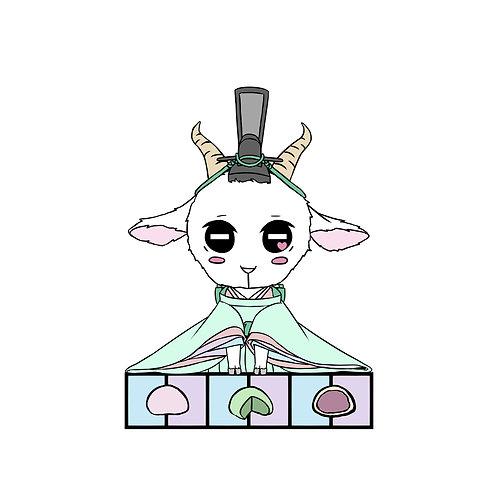Goat Zodiac Hina Doll