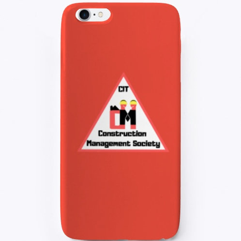 Construction Management Society iPhone Case