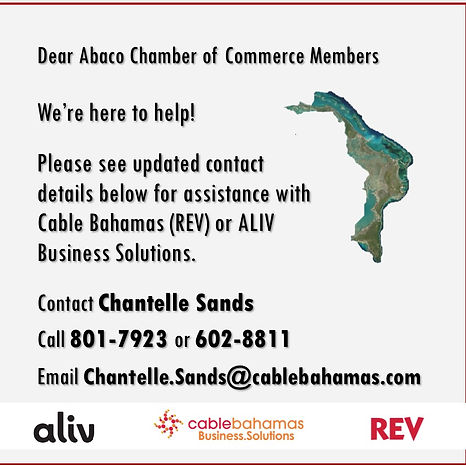 CBL Business Solutions Flyer - Abaco Cha