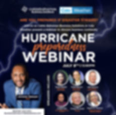 Hurricane Preparedness Webinar - Communi