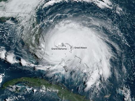 Hurricane Dorian Cat 5 devastate Abaco and Grand Bahama