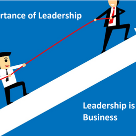 THE REASON BEHIND SUCCESSFUL BUSINESS IS LEADERSHIP