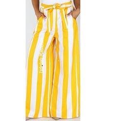 Taylor Yellow wide leg Pants