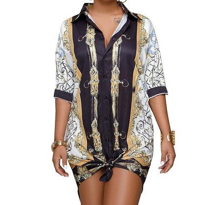 SHEBA SHIRT DRESS