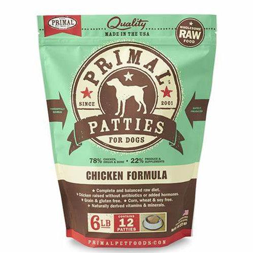 Primal Foods: Chicken Patties