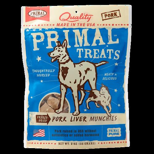 Primal Treats: Pork Liver Munchies