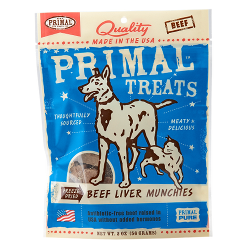 Primal Treats: Beef Liver Munchies