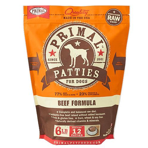 Primal Foods: Beef Patties