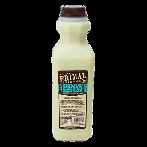 Primal Foods: Raw Goat Milk Quart