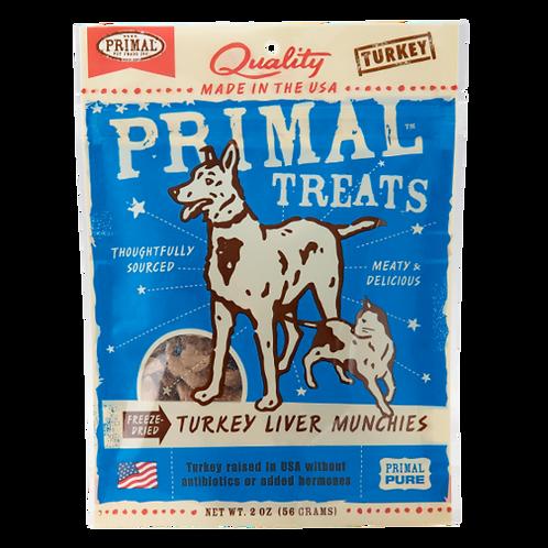 Primal Treats: Turkey Liver Munchies