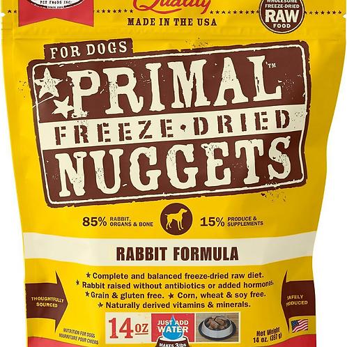 Primal Foods: Freeze-Dried Rabbit Nuggets 14oz