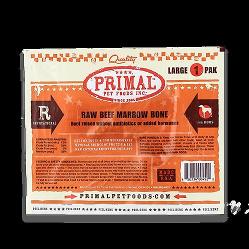 Primal Foods: Beef Marrow Bone-Large