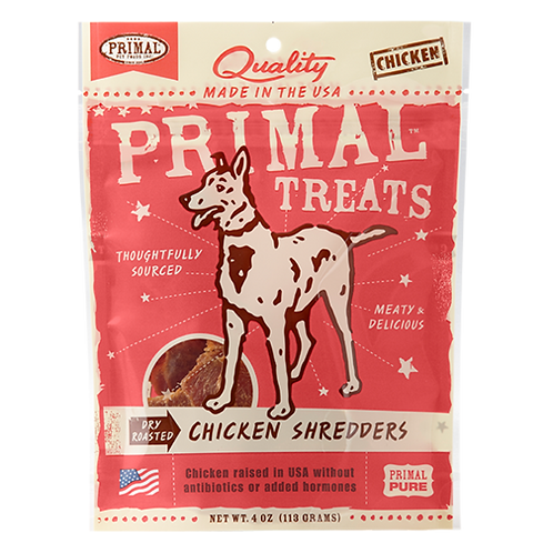 Primal Treats: Chicken Shredders
