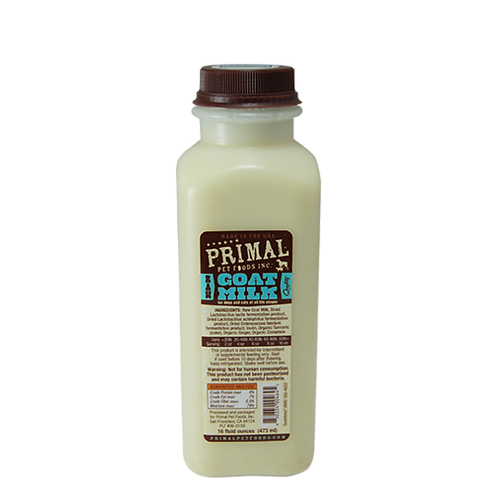 Primal Foods: Raw Goat Milk Pint