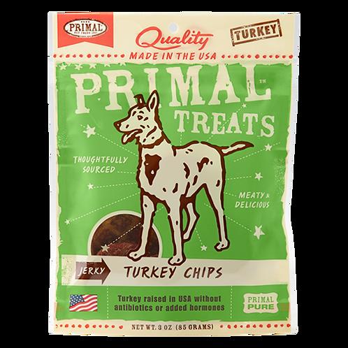Primal Treats: Turkey Chips