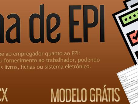 Modelo de FICHA DE EPI grátis e sua importância