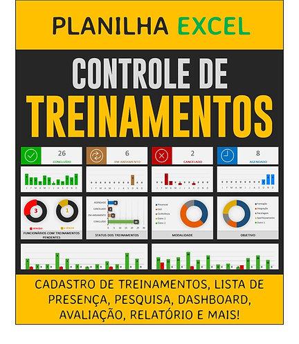 Planilha Excel - Controle de treinamentos