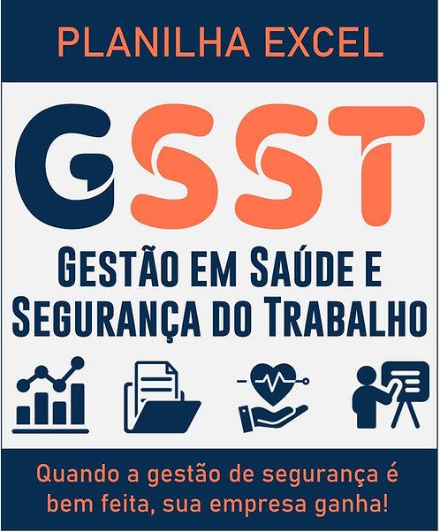 Planilha Excel GSST - Gestão em Segurança do Trabalho