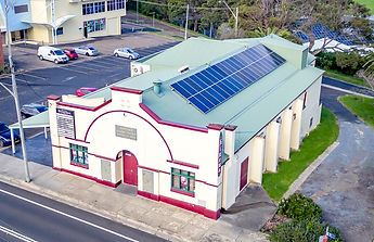 solar panels on the narooma kinema