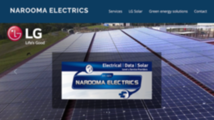 narooma electrics website