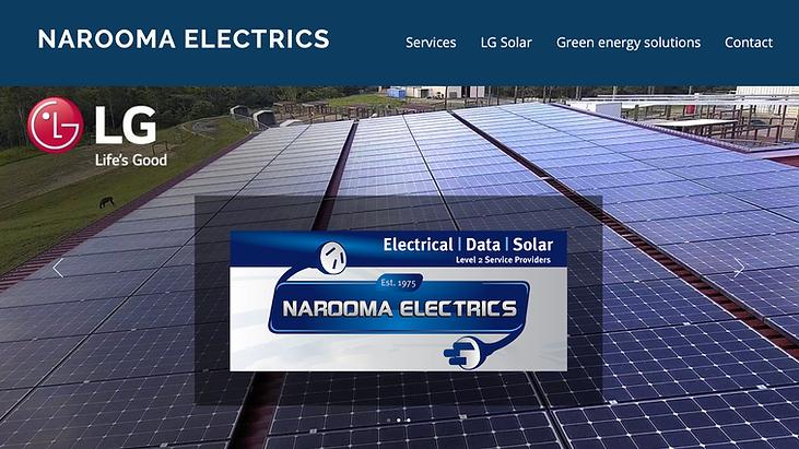 narooma electrics website