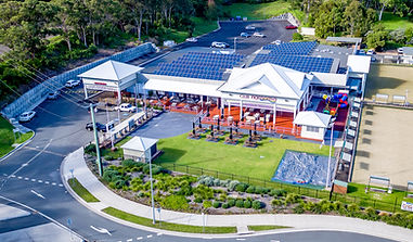 solar panels installed for club narooma