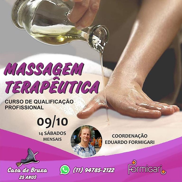 Formação em Massagem Terapeutica