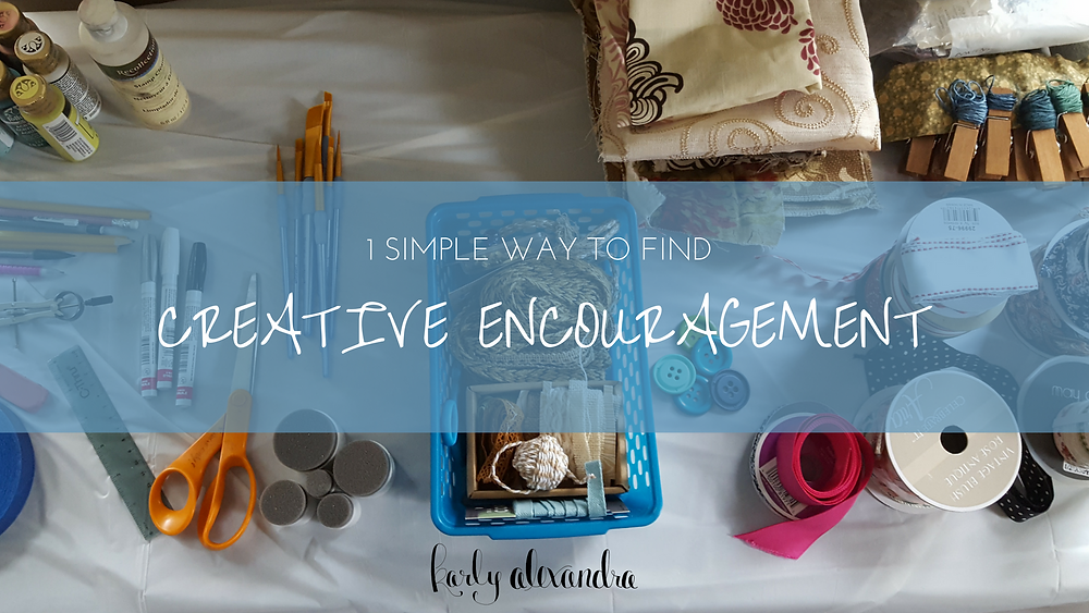 1 simple way to find creative encouragement karly alexandra