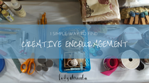 1 simple way to find creative encouragement