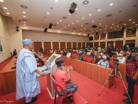 Sen Goje commends Youth Parliament for Celebrating IDP 2021