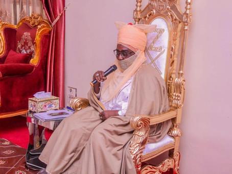 Courtesy Visit on Emir of Zazzau