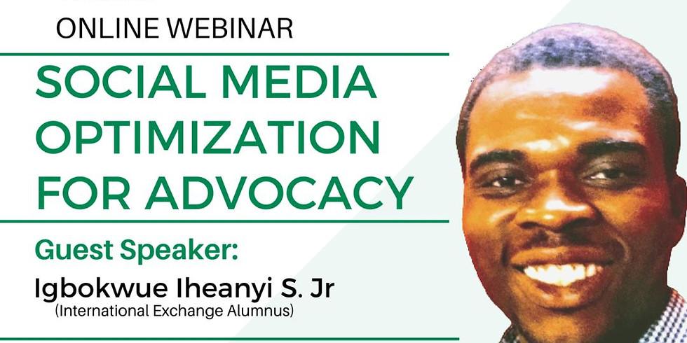 Social Media Optimization For Advocacy