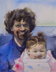 Son and Granddaughter