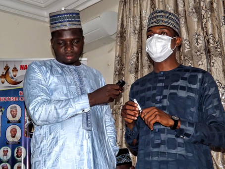 WYSD: NYP Speaker Commends Gombe Governor, Others over Youth Skills