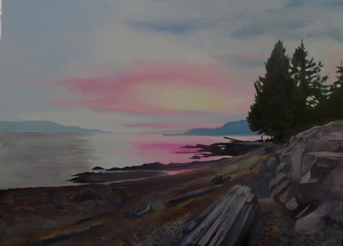 Sunset Henderson Beach