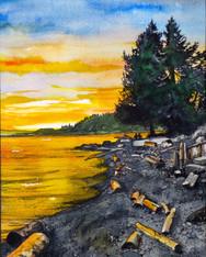 Henderson Beach Sunset