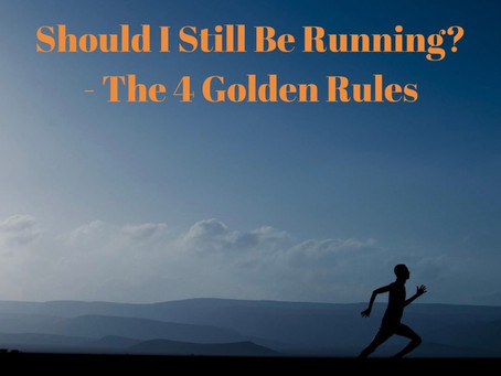 4 Golden Rules to Running Injuries