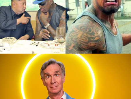Kim Jong-Un, The Rock, and Bill Nye the Science Guy