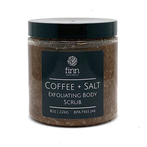 Coffee + Salt Exfoliating Body Scrub