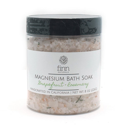 Magnesium Flake Bath Soak - Grapefruit & Rosemary