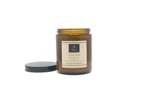 Fresh Pine Scented Soy Candle