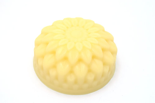 Scented or Unscented Solid Lotion Bar Chrysanthemum Shaped