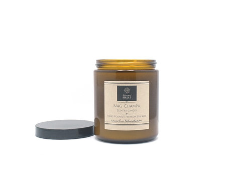 Nag Champa Scented Soy Candle
