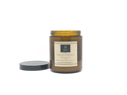 Toasted Pumpkin Scented Soy Candle