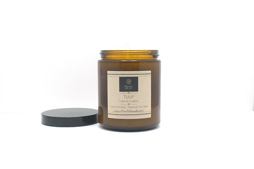 Tulip Scented Soy Candle