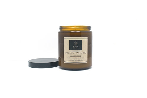 Vanilla & Wild Fig Scented Soy Candle