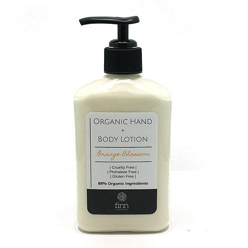 Organic Hand + Body Lotion - Orange Blossom