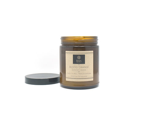 Blood Orange Scented Soy Candle